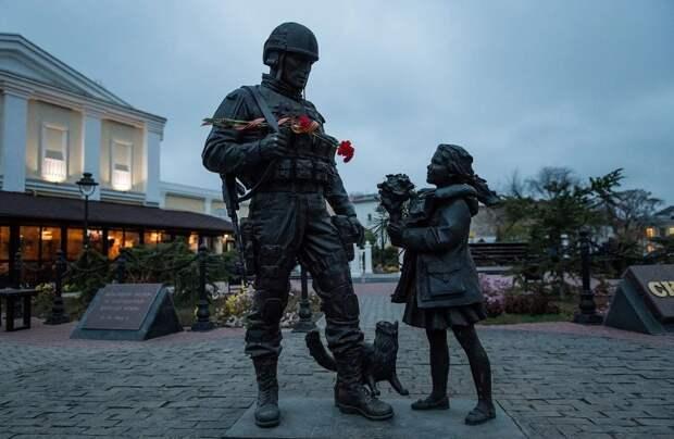 Крым — территория вежливых людей