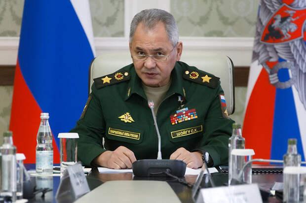 Шойгу заявил о провокациях США и НАТО в Черном море