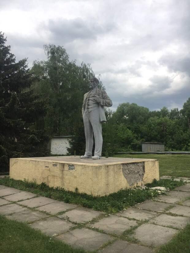 Последний ленин в Украине. Чернобыль