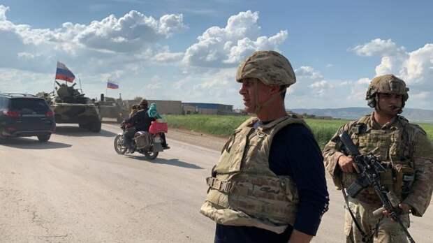 Российские военные прорвали оцепление США и вошли в восточную Сирию, возведя блокпост