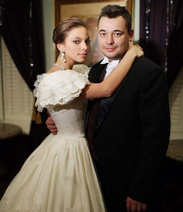 Свадьба Сергея Жукова и Регины Бурд. / Фото: www.static.life.ru
