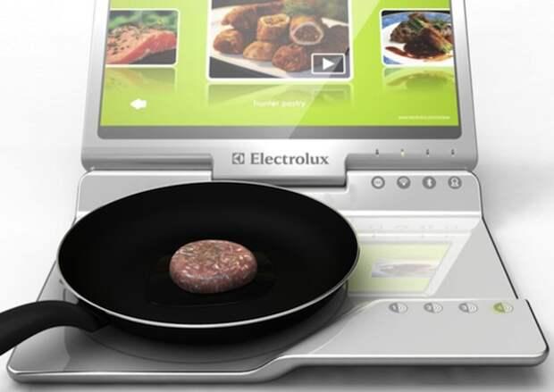 А это ужин, который приготовил ноутбук