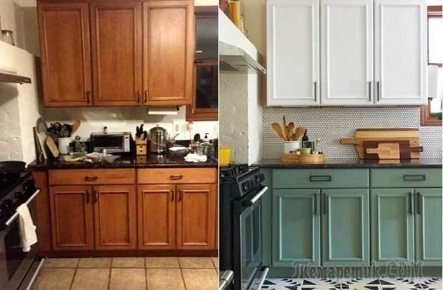 9 подсказок, как изменить кухню за сутки, не потратив ни копейки на новую мебель