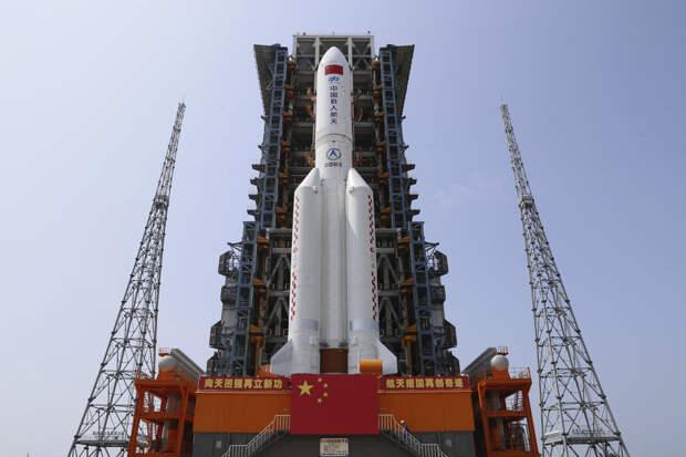 Китай запустил в космос свой новый орбитальный «Небесный дворец»: видео