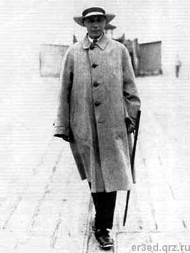 Андрей Белый. Свинемюнде. 1922