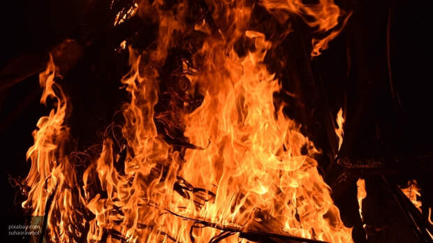 В Невеле произошел пожар из-за короткого замыкания
