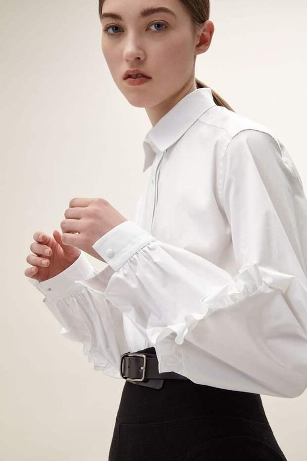 Блузки с интересными рукавами (трафик)