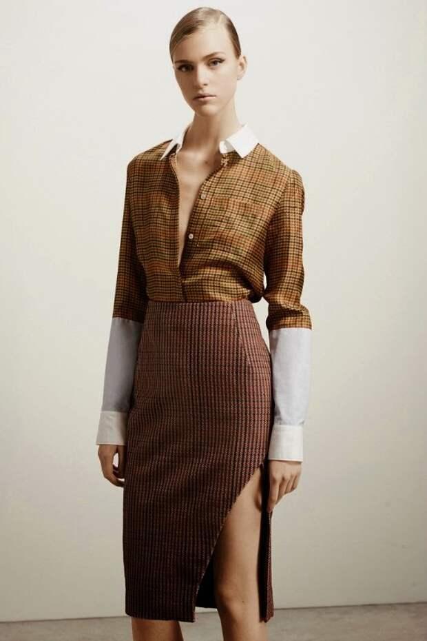 Идеи переделок рубашек и блузок