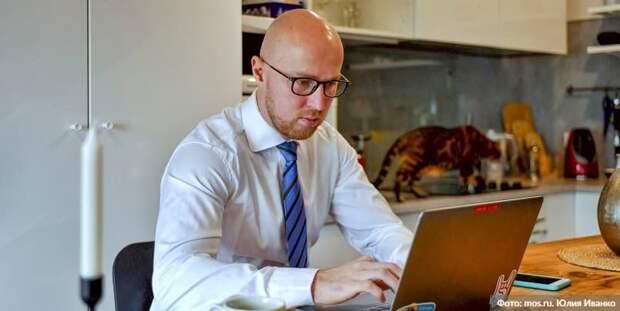 Собянин отменил обязательное требование об удаленной работе 30% сотрудников. Фото: Ю. Иванко mos.ru