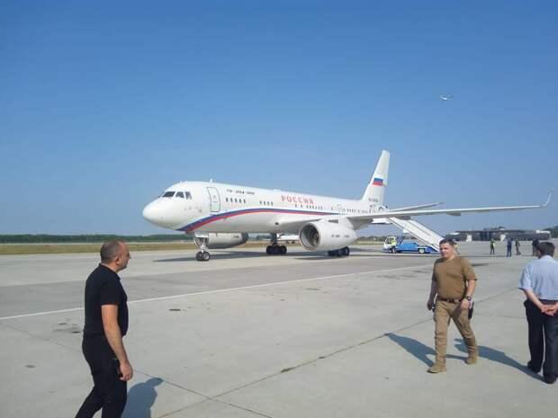 Обмен заключенными: самолет летного отряда «Россия» вылетел из «Борисполя» в Москву