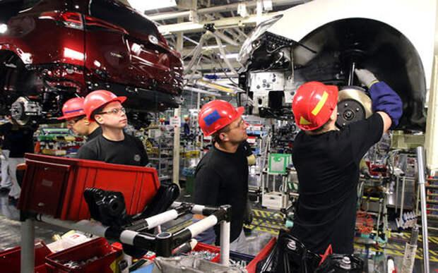 Toyota вложит в завод в С-Петербурге 20 млрд. руб.