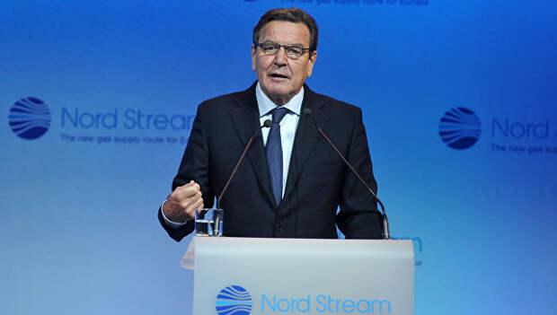Шредер: в Европе не будет стабильности без разумных отношений с Россией