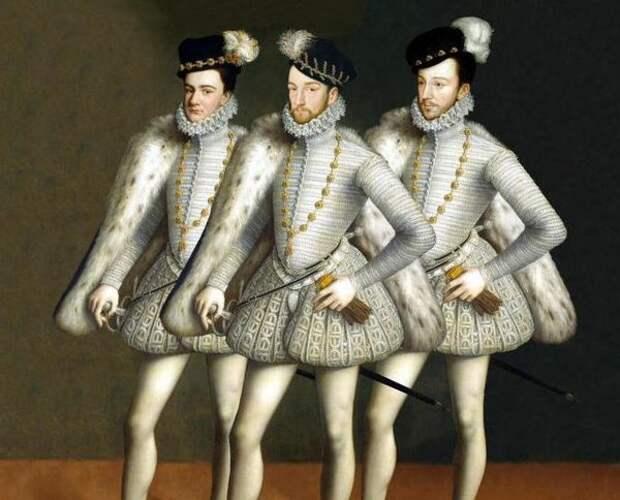 Генрих III и его миньоны