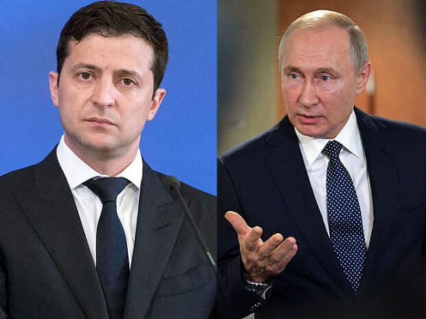 Зеленский: Ватикан— идеальное место для встречи с Путиным