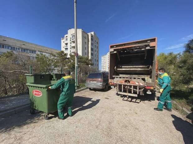 В период самоизоляции в Севастополе стало больше мусора