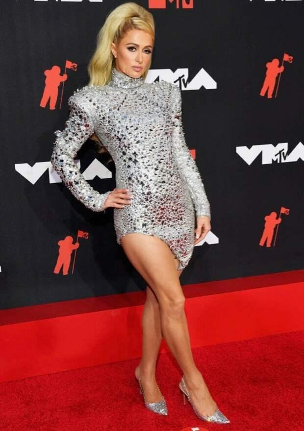 25/32 Paris Hilton Image: Kevin Mazur/MTV VMAs 2021/Getty Images for MTV/ ViacomCBS