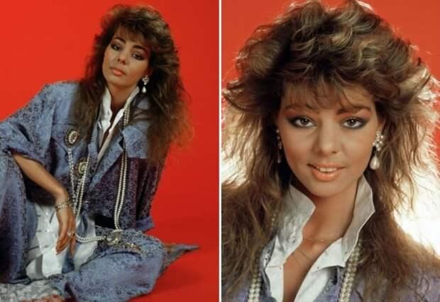 Одна из самых популярных певиц Европы 1980-х гг. | Фото: 24smi.org и sandra.in.ua
