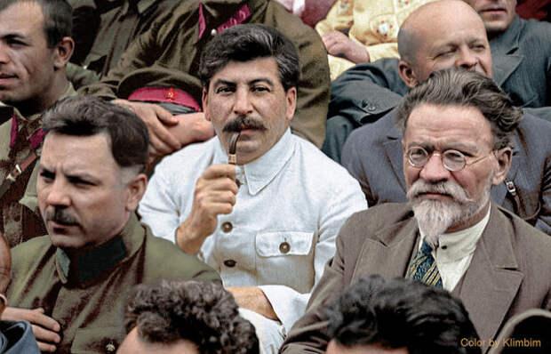 Сталин, Ворошилов и Калинин