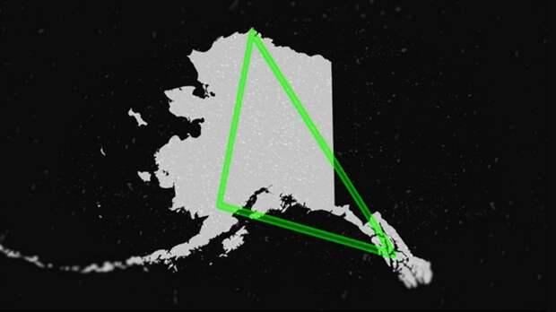 Аляскинский загадочный треугольник может посоревноваться с Бермудским