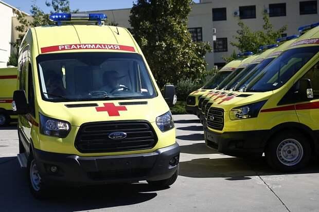 Автопарк скорой помощи на Кубани пополнился 21 машиной