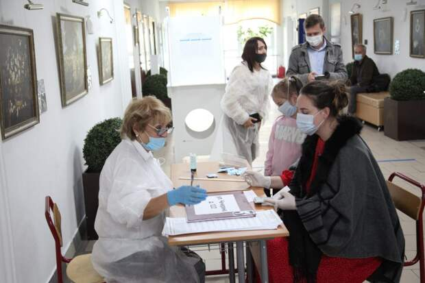 Выборы в ЮВАО. Фото: Роман Балаев