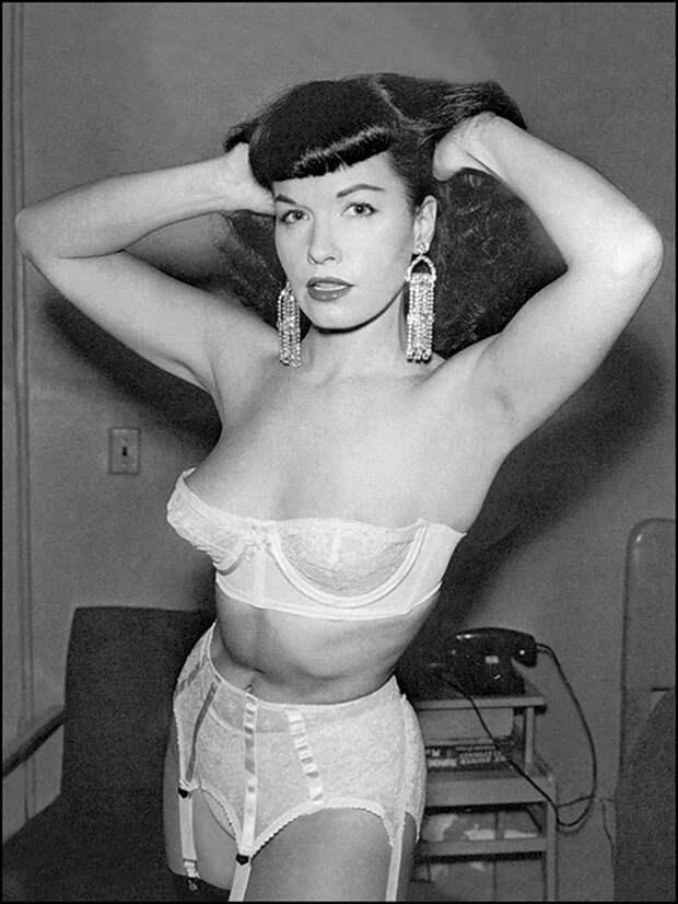 Бетти Пейдж - символом сексуальной революции