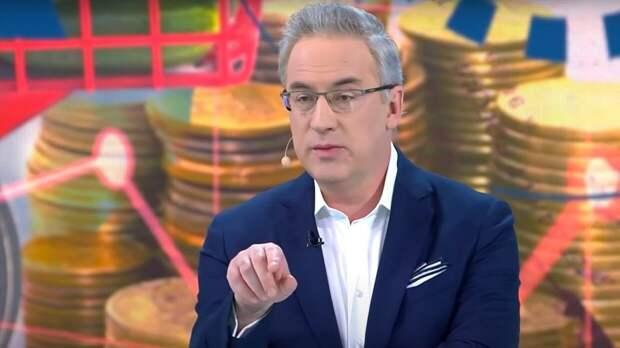 Ведущий Андрей Норкин вспомнил бородатый анекдот про чешского попугая и НАТО
