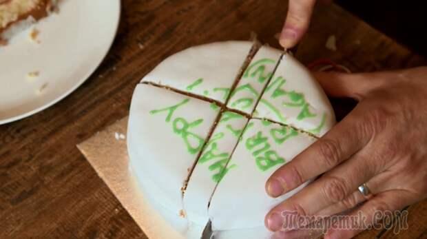 Почему нарезание торта треугольниками — неправильно, и еще 5 кулинарных советов