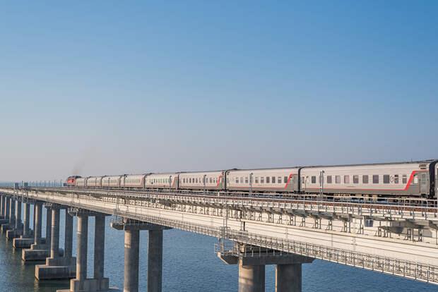 Поезда из Крыма начнут курсировать в Пермь и Омск