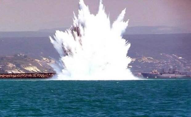 Вазербайджанском секторе Каспийского моря обезвредили морскую мину