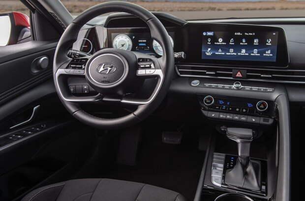 Новая Hyundai Elantra для России: известна гамма моторов