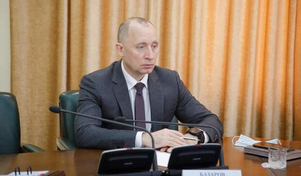 Владимир Базаров стал новым главой департамента строительства итранспорта