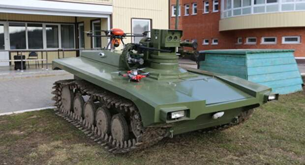 В Германии восхитились возможностями российского мини-танка «Маркер»