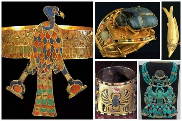 Невероятное ювелирное искусство Древнего Египта.Ученые прочли скрытые письмена на древних мумиях (2 статьи)