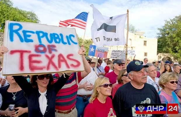 Техас намерен начать процесс отделения от США