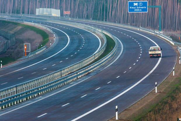 Германия хочет ввести ограничения скорости на автобанах