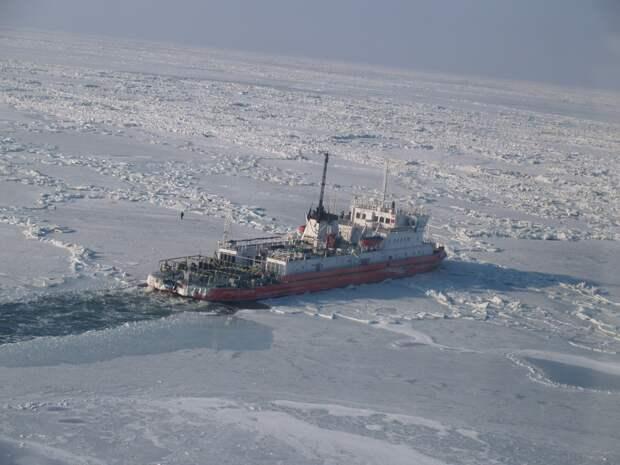 Лёд на Азовском море