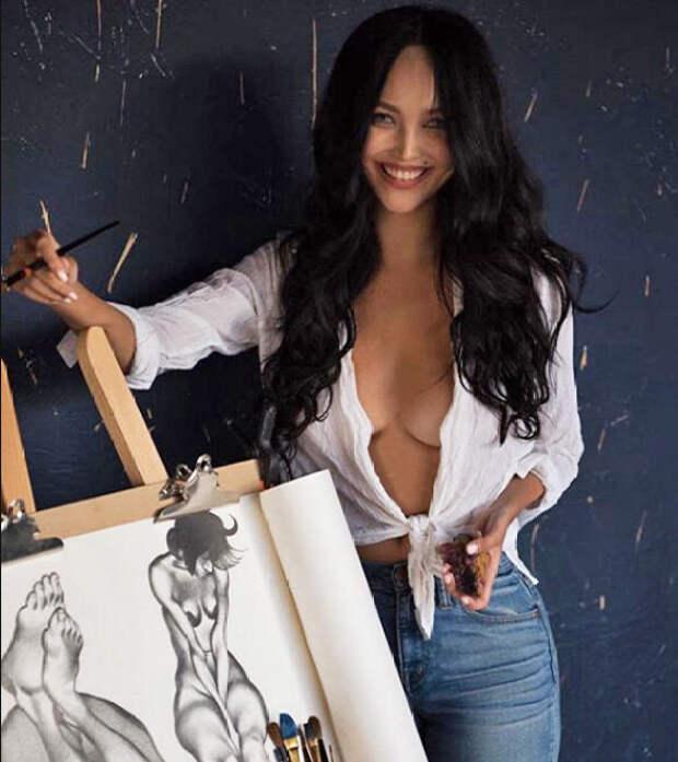 Ну и жену нашел себе Цекало: порнохудожница с коротышкой выглядят смешно