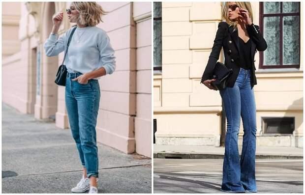Главное, чтобы джинсы подчеркивали достоинства фигуры