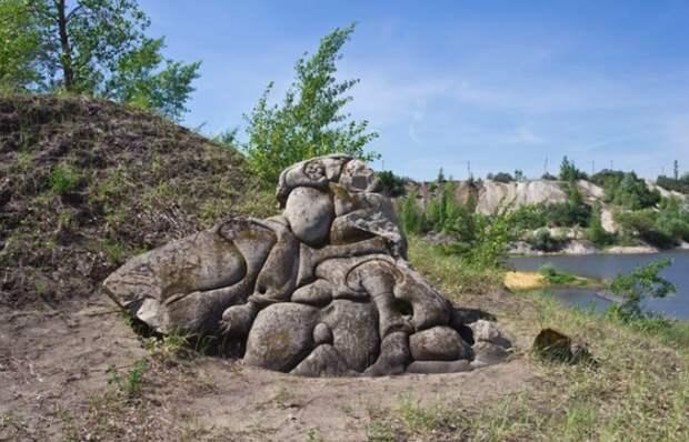 Загадочные камни в Воронежской области.