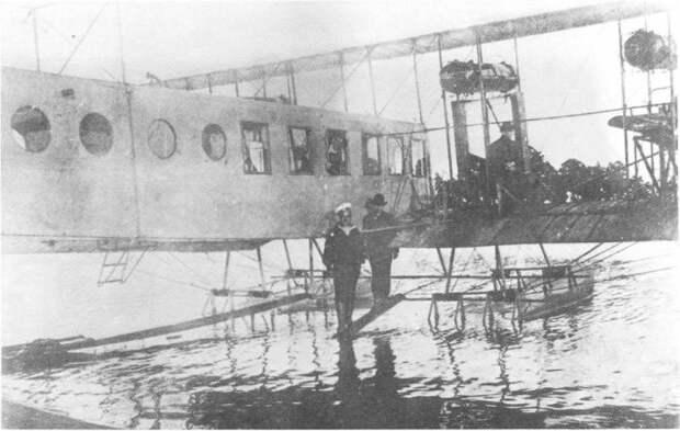 Опытный гидросамолет «Илья Муромец» в Либаве, 1914 год