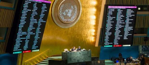 Большинство ООН не стало голосовать за антироссийскую резолюцию Украины