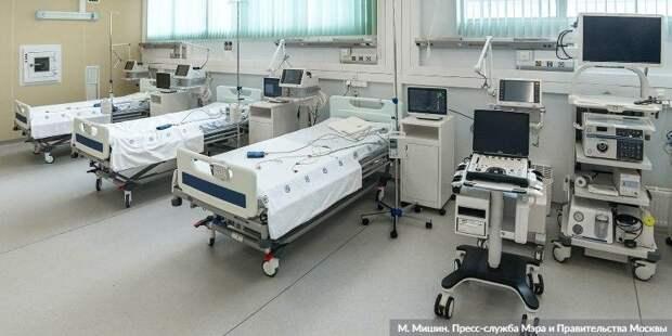 Ракова: Число госпитализаций сCOVID-19 за неделю возросло на 30%. Фото: М. Мишин mos.ru