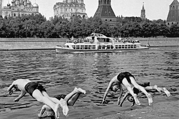 Похожее лето в далеком СССР