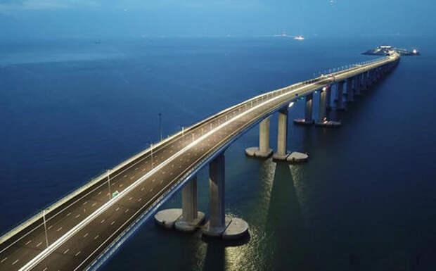 Круче чем Крымский: в Китае открыли самый длинный автомобильный мост