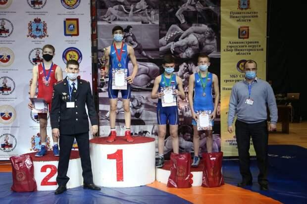 Всероссийский турнир поспортивной борьбе «Сила России» прошел вгороде Бор
