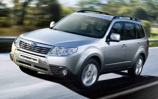 Смертельно опасные подушки - Subaru отзывает в России 24 480 автомобилей