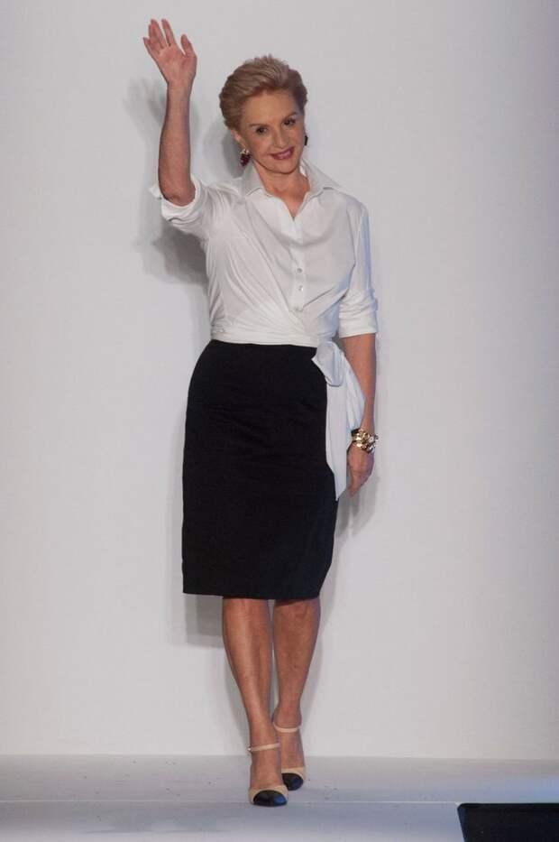 Женщина в 80 выглядит на 50. Вот у кого действительно стоит учиться стилю и брать пример - Каролина Эррера