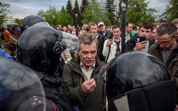 Лагеря подготовки протестующих найдены в России