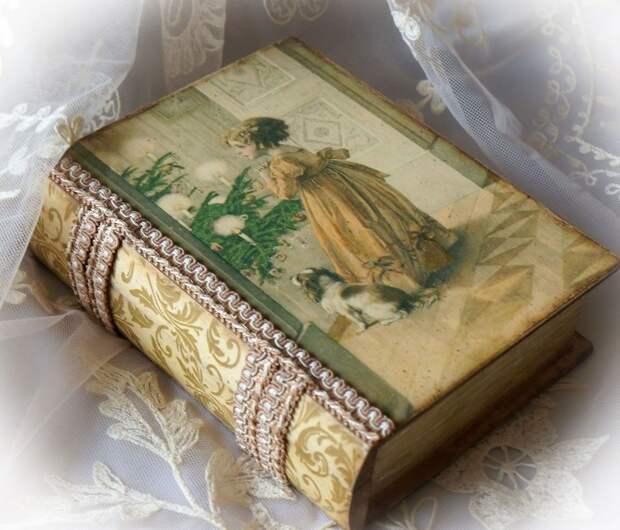 Как использовать старые книги, которые жалко выбросить